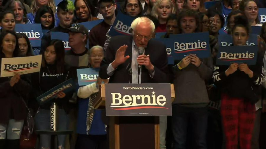 Sanders focuses on NC ahead of Super Tuesday