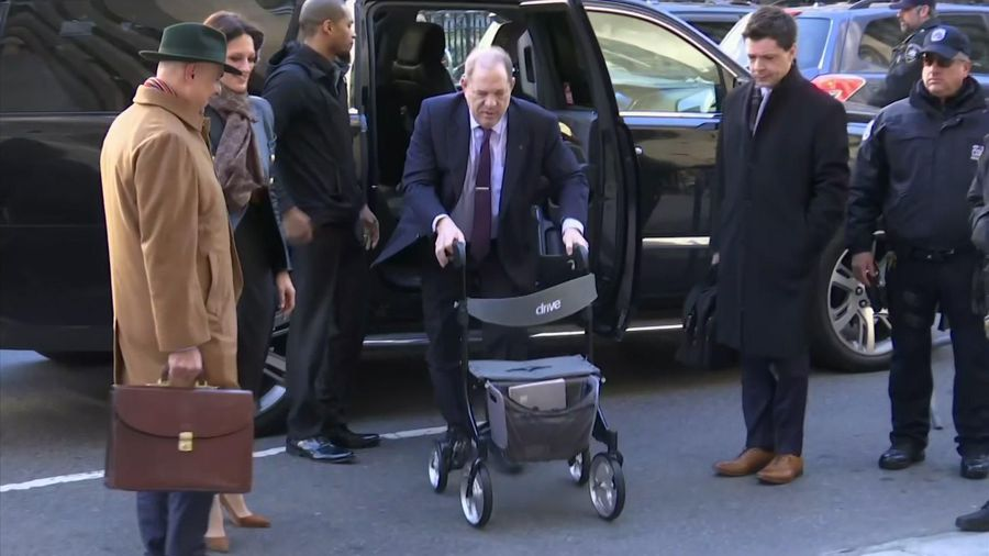 Weinstein arrives for day 2 of jury deliberations
