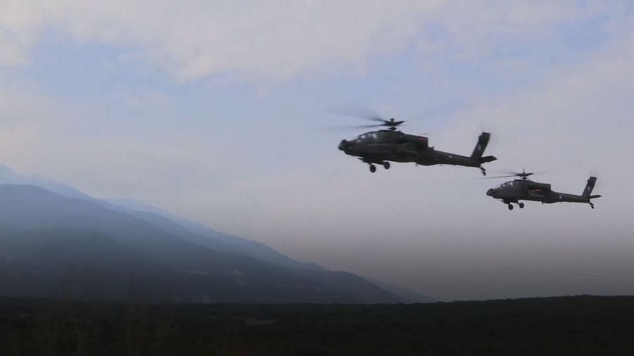 Greece, US hold live-fire drill after base deal