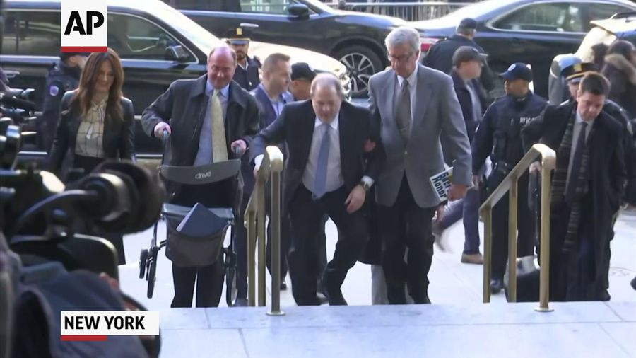 Weinstein jury back to work with signs of split