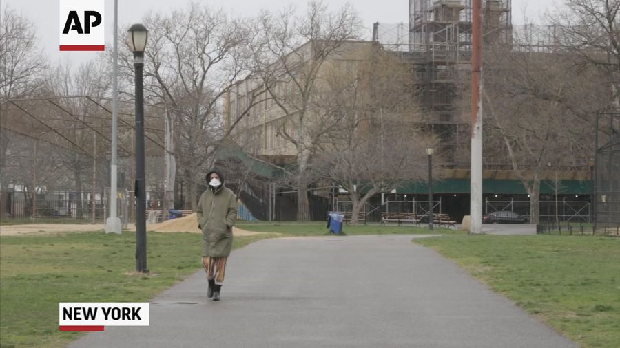 NYC reacts to mixed messages on face mask use