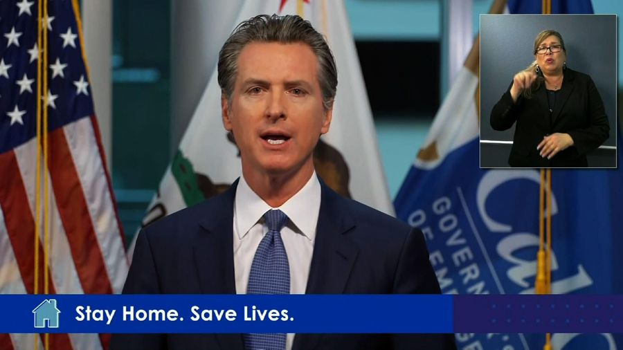 Newsom hopes to aid states with PPE, ventilators