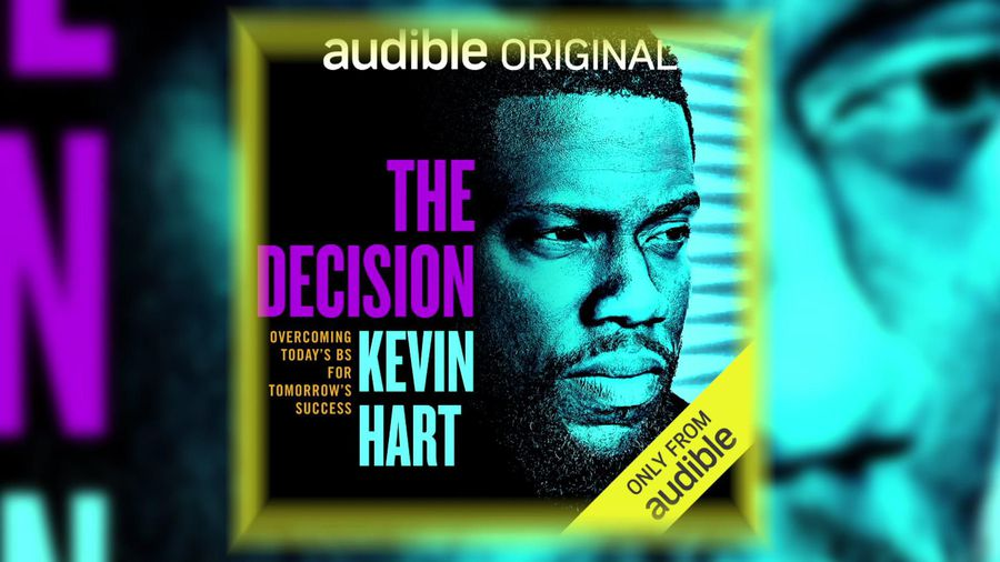 Kevin Hart on new audiobook: 'I'm stepping into this space of inspiring'