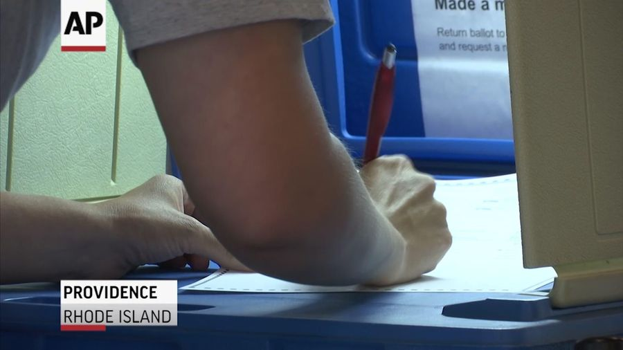 Rhode Island holds primary amid pandemic, unrest