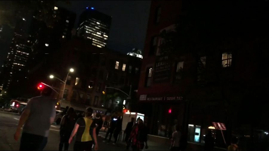 Defiant NYC protesters march through curfew