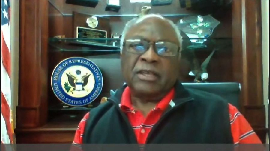Clyburn: Trump misuses religion as political prop