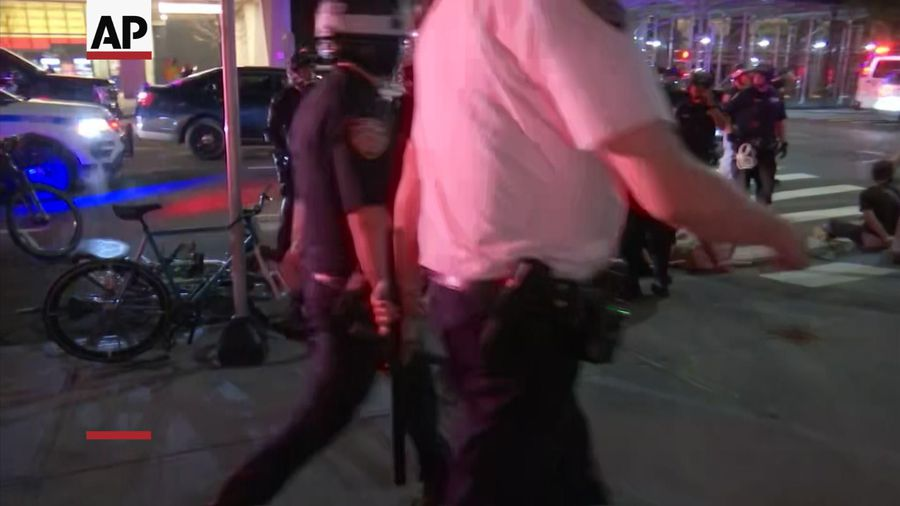 NYPD enforce strict curfew with several arrests