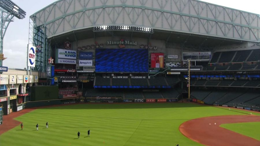 Astros begin summer camp at home amid pandemic