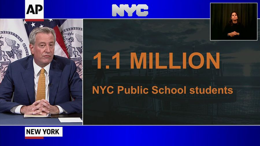 NYC schools to reopen in fall with hybrid learning