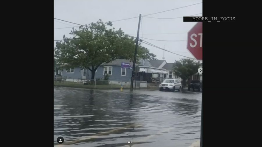 Tropical Storm brings heavy rain to US Northeast