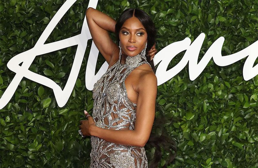 Naomi Campbell won't touch her eyebrows