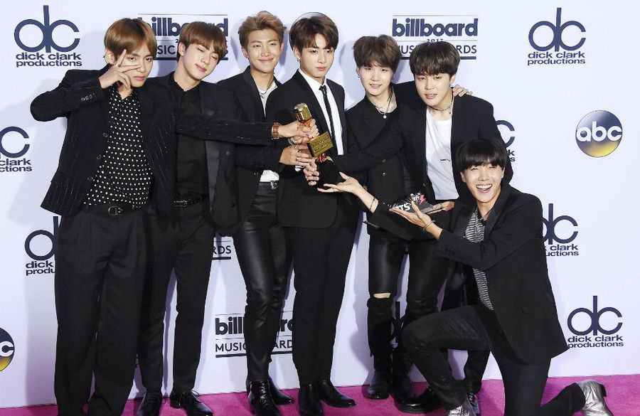 BTS to head out on Map of the Soul world tour in April
