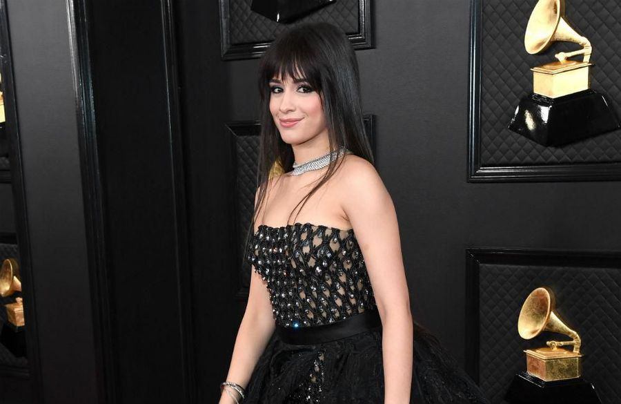 Camila Cabello wears $2 million collar necklace to the Grammy Awards
