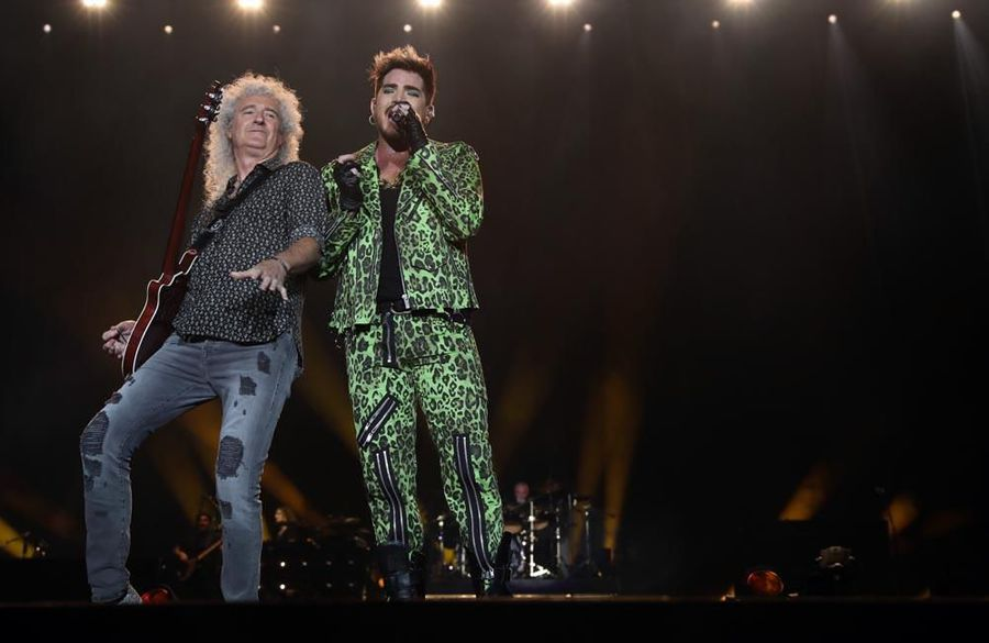 Queen + Adam Lambert recreate Live Aid magic at Fire Fight Australia