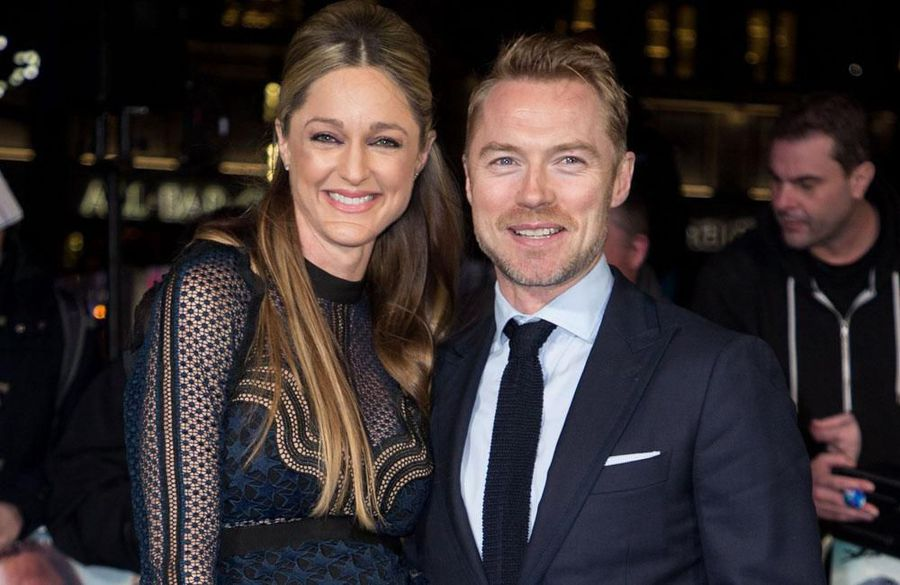 'Irish mammy' Ronan Keating