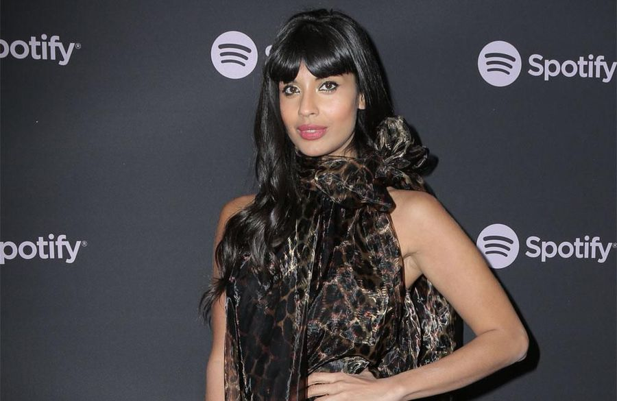 Jameela Jamil received mysterious flowers for her birthday