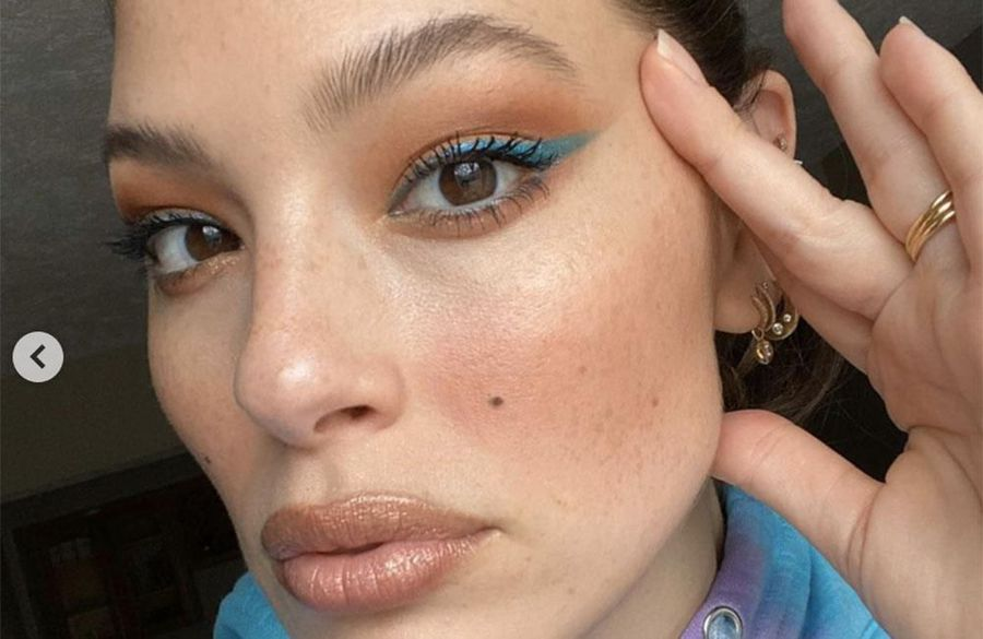 Ashley Graham wearing 'full glam' to online business meetings