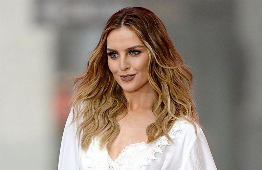Perrie Edwards is struggling to ration food thanks to her boyfriend's bottomless stomach