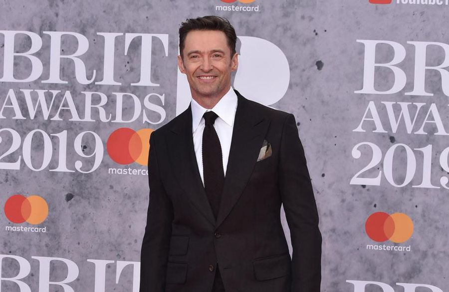 Hugh Jackman staying fit in lockdown by running up stairs