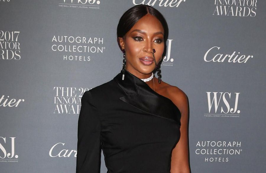 Naomi Campbell self-quarantining in Elizabeth Taylor's old clothes