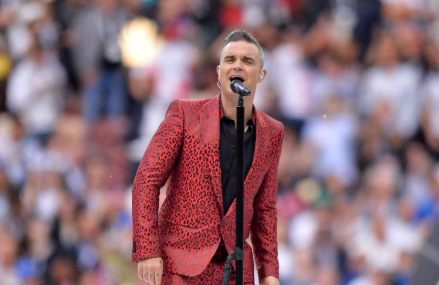 Robbie Williams records new take on Come On Eileen
