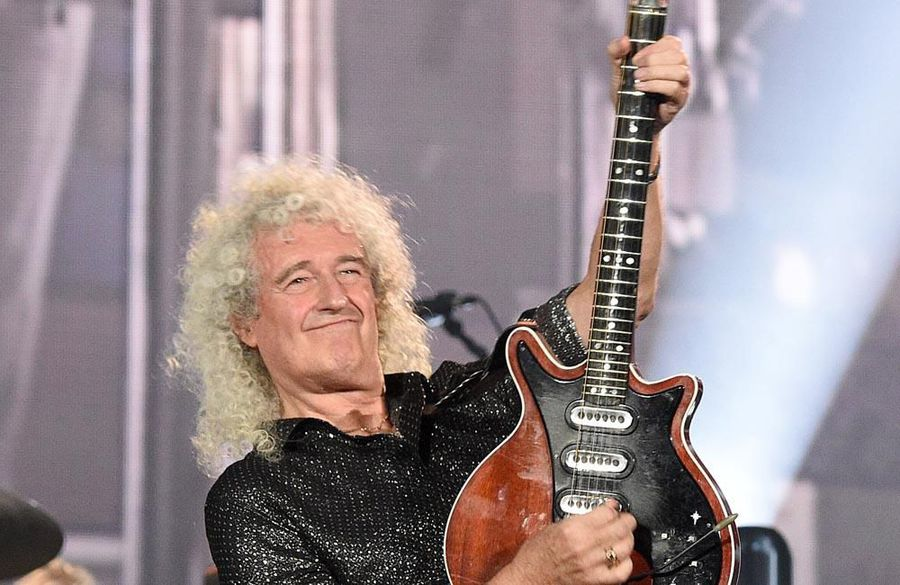 Brian May suffered a heart attack after gardening injury