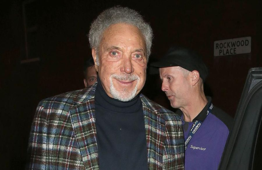 'They thought I was stillborn': Sir Tom Jones was silent at birth