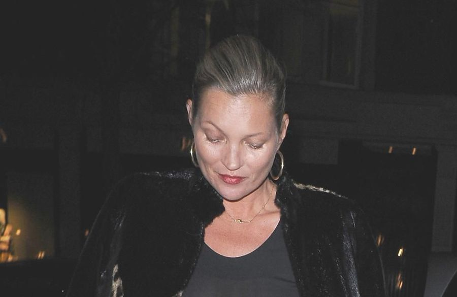 Kate Moss enjoying sobriety