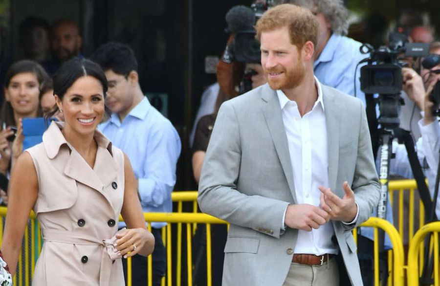 Prince Harry and Duchess Meghan GBP7k a day security