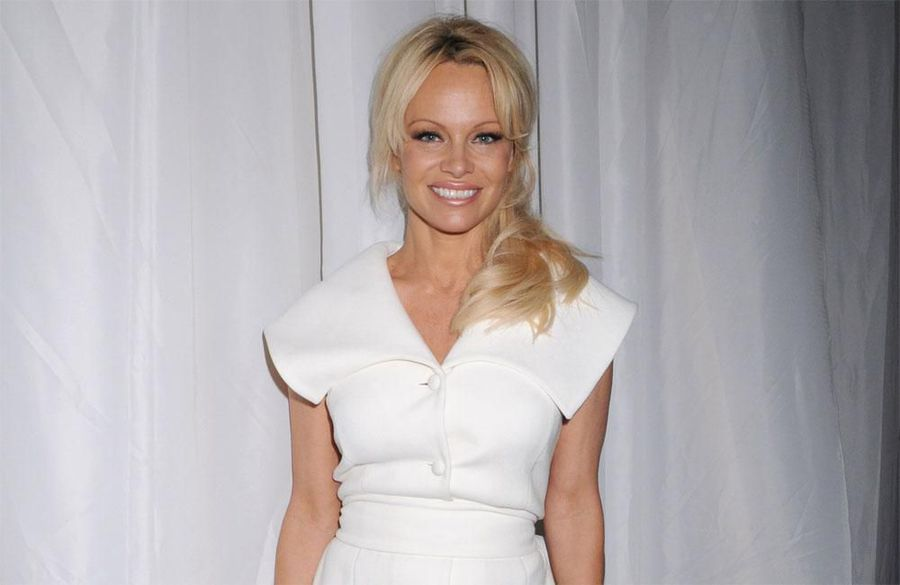 'It still fits': Pamela Anderson still slips into sexy Baywatch swimsuit