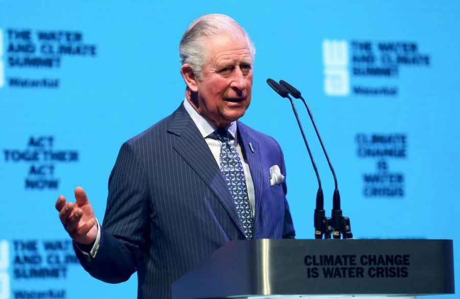 Prince Charles feels 'lucky' to have not been seriously ill