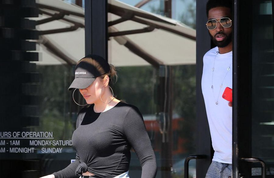 Khloe Kardashian and Tristan Thompson 'are not officially back together'