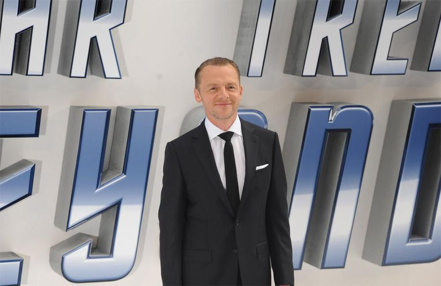 Simon Pegg wants to go into space with Tom Cruise