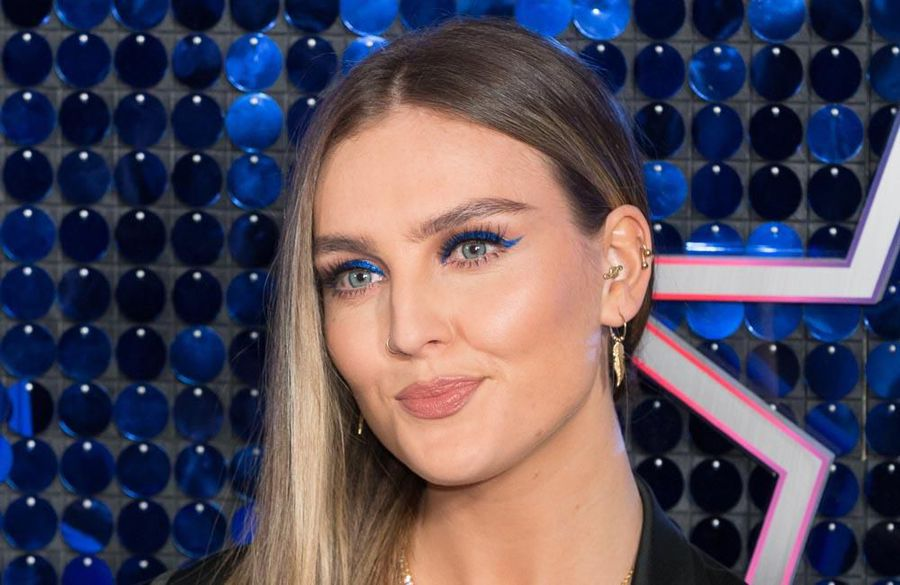 Perrie Edwards shows off scar as she flaunts impressive body