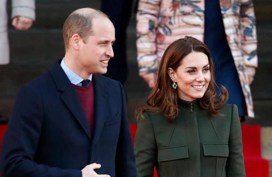 Prince William and Duchess Catherine praise the NHS on first engagement after lockdown