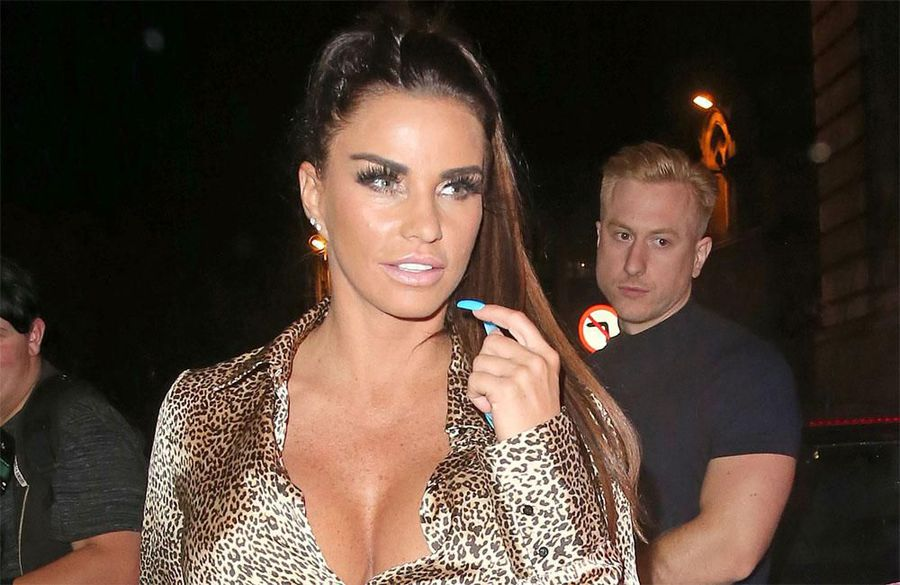 Katie Price 'terrified' mansion ransack could be a 'warning'