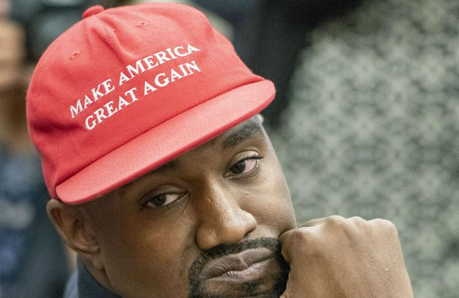 Kanye West running for US president under the Birthday Party