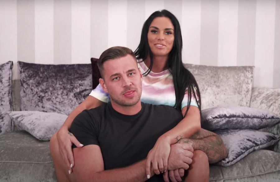 Katie Price and Carl Woods have each other's social media passwords