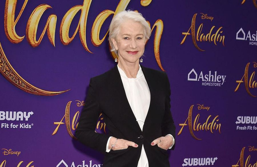 UnBEARlievable! Dame Helen Mirren chased away an angry bear