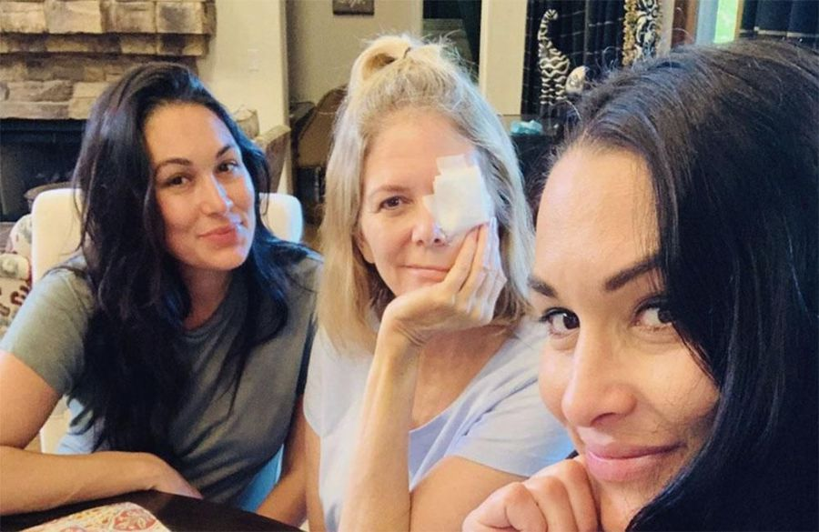 Nikki and Brie Bella give update on mom's condition