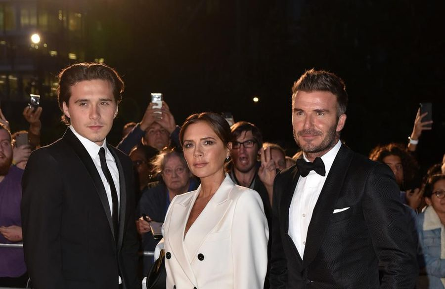 David and Victoria Beckham buying son Brooklyn and fiancee a London love-nest