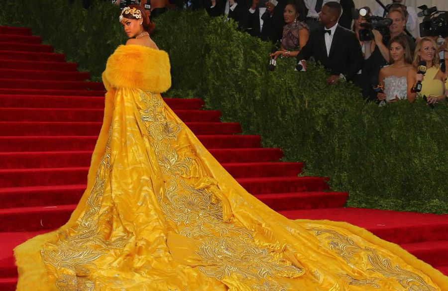 Rihanna reveals fears over iconic Met Gala gown
