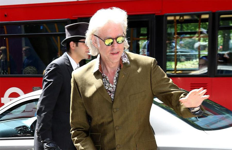 Bob Geldof finds people congratulating him for charity work 'boring'