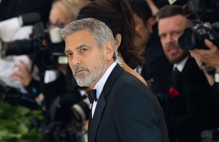 George Clooney auctioning off motorbike for charity