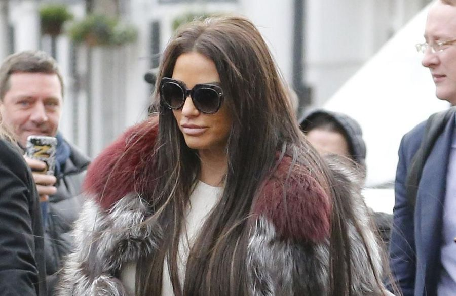 Katie Price's website taken offline after not paying bills