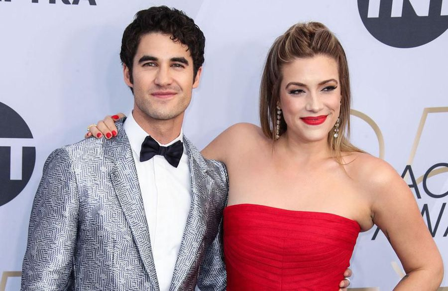 Darren Criss turned his wedding into a rock show