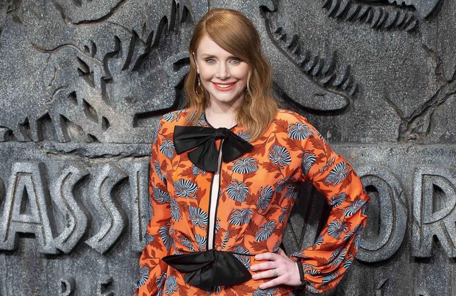 Bryce Dallas Howard always 'thanks' the set after filming