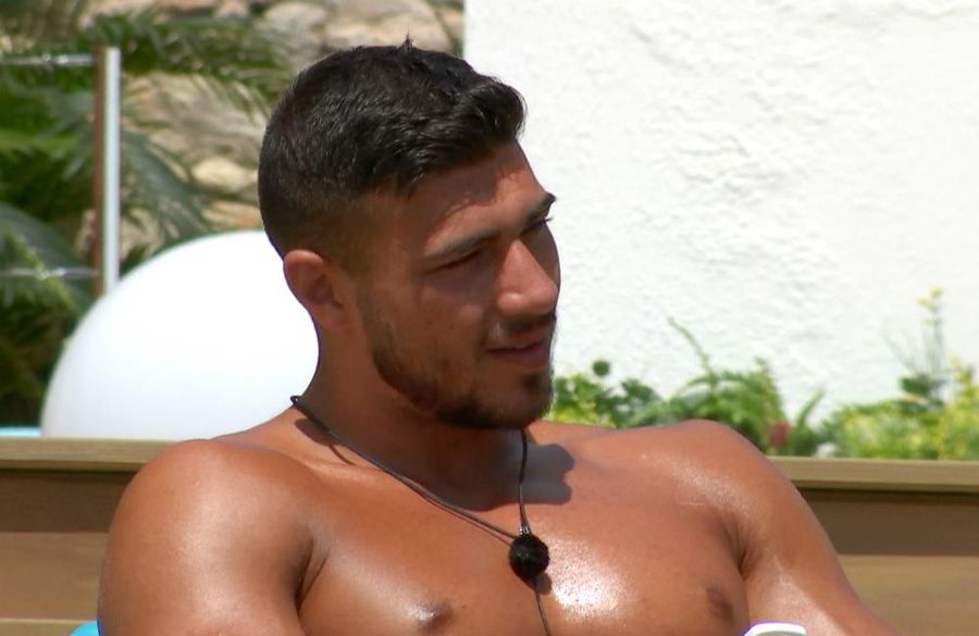 Tommy Fury and Molly-Mae Hague share first kiss
