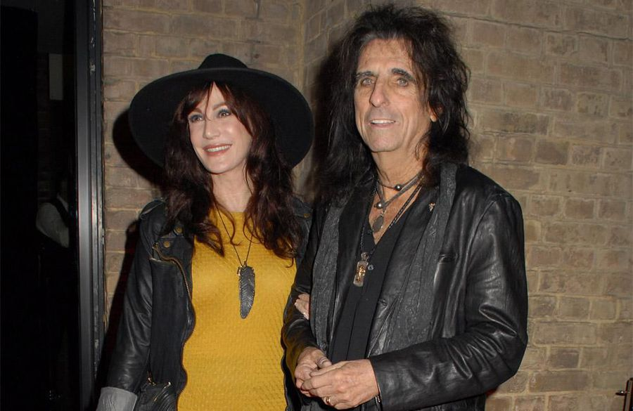 Alice Cooper has death pact with wife