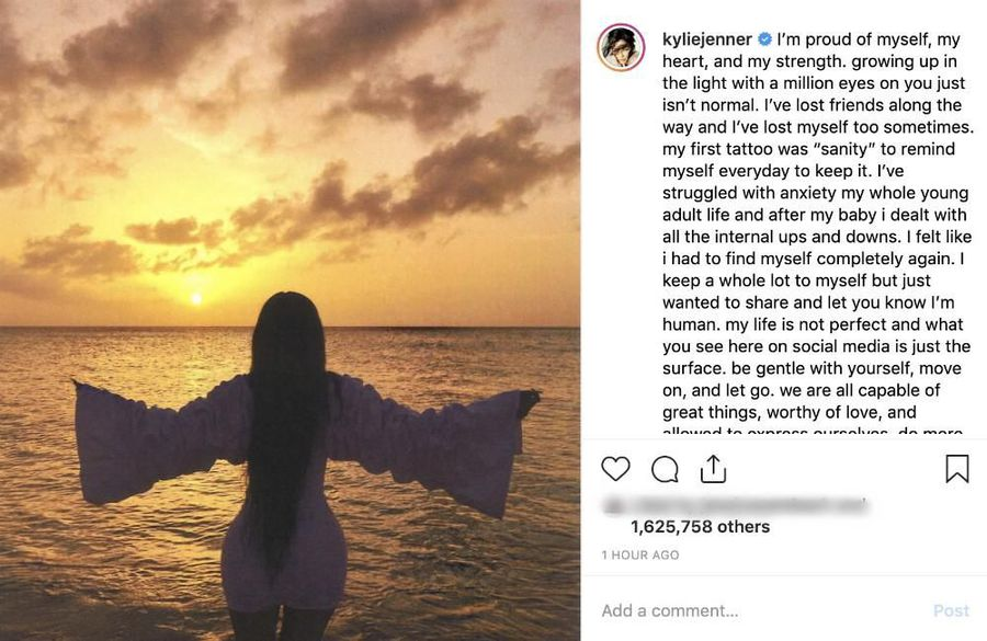 Kylie Jenner dealt with 'ups and downs' after giving birth